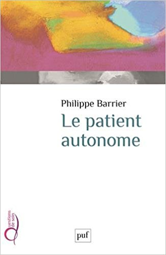 Première de couverture du livre Le patient autonome
