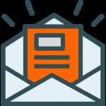 Enveloppe avec lettre