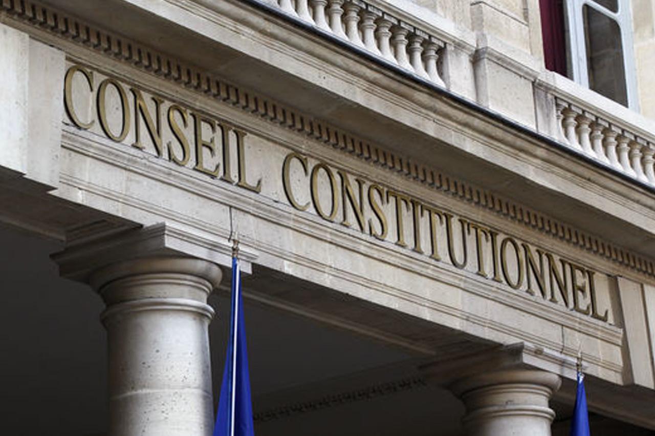 Image de la devanture du Conseil constitutionnel