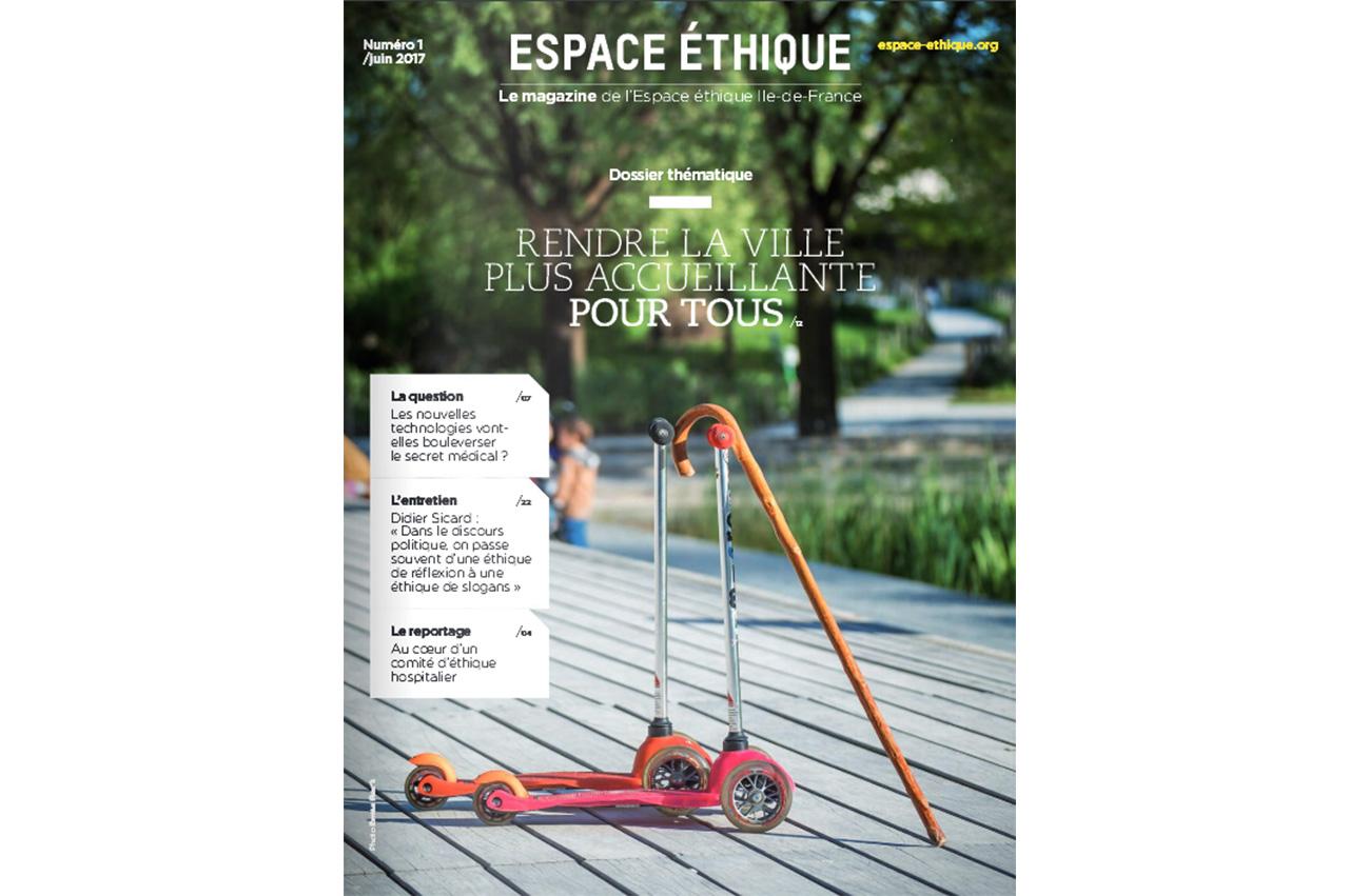 Première de couverture Magazine Ile de France n°1