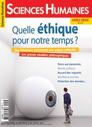 Première de couverture de la revue Sciences humaine