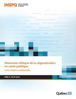 Dimension éthique de la stigmatisation en santé publique : outil d'aide à la réflexion