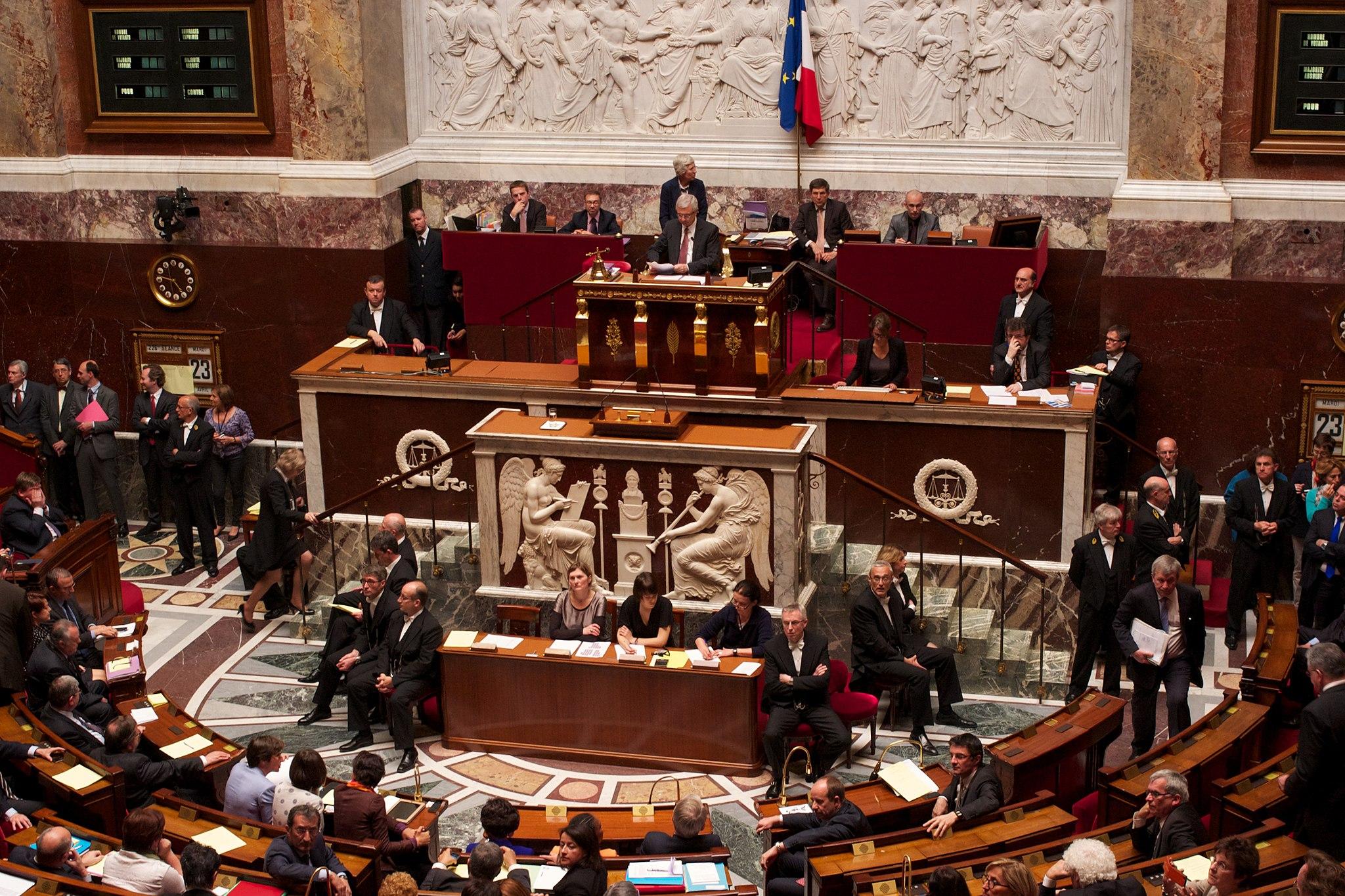 Assemblée nationale perchoir